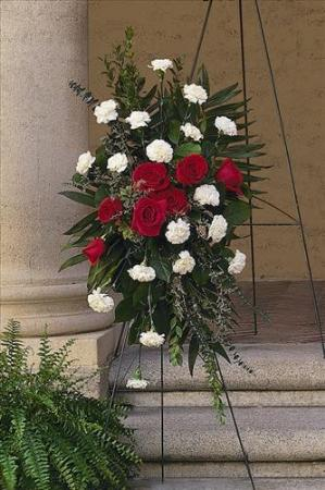 Remembering forever spray funeral flowers sympathy - Valley memorial gardens mission tx ...