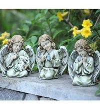 Small Angel Girls, 3 assorted by McAdams Floral, Victoria|Cuero|Goliad|Edna|Port Lavaca, Texas (TX)  Funeral Florist