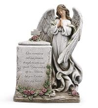 Praying Angel with Box by McAdams Floral, Victoria|Cuero|Goliad|Edna|Port Lavaca, Texas (TX)  Funeral Florist
