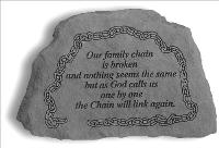 Our Family Chain is Broken.. - Little Rock by McAdams Floral, Victoria|Cuero|Goliad|Edna|Port Lavaca, Texas (TX)  Funeral Florist