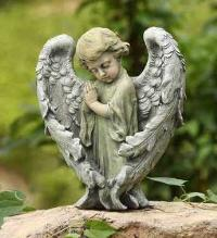 Baby Angel with Wings by McAdams Floral, Victoria|Cuero|Goliad|Edna|Port Lavaca, Texas (TX)  Funeral Florist