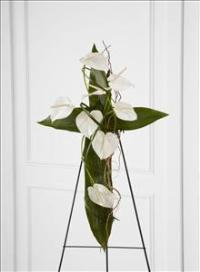 The FTD® Living Cross™ Easel by McAdams Floral, Victoria|Cuero|Goliad|Edna|Port Lavaca, Texas (TX)  Funeral Florist