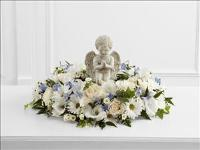 The FTD® The Little Angel™ Ring of Flowers by McAdams Floral, Victoria|Cuero|Goliad|Edna|Port Lavaca, Texas (TX)  Funeral Florist