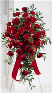 Sweet Thought Standing Spray by McAdams Floral, Victoria|Cuero|Goliad|Edna|Port Lavaca, Texas (TX)  Funeral Florist