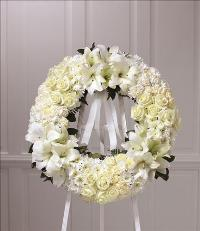 Wreath of Remembrance by McAdams Floral, Victoria|Cuero|Goliad|Edna|Port Lavaca, Texas (TX)  Funeral Florist