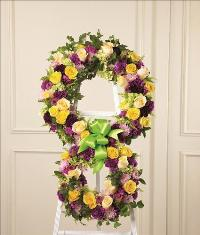 Eternity Standing Easel by McAdams Floral, Victoria|Cuero|Goliad|Edna|Port Lavaca, Texas (TX)  Funeral Florist