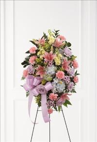 Blessings of the Earth Easel by McAdams Floral, Victoria|Cuero|Goliad|Edna|Port Lavaca, Texas (TX)  Funeral Florist