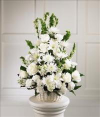 Eternal Light™ Arrangement by McAdams Floral, Victoria|Cuero|Goliad|Edna|Port Lavaca, Texas (TX)  Funeral Florist