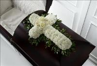 The FTD® Peaceful Memories™ Casket Spray by McAdams Floral, Victoria|Cuero|Goliad|Edna|Port Lavaca, Texas (TX)  Funeral Florist