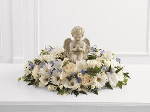 The Little Angel Ring of Flowers by McAdams Floral, Victoria|Cuero|Goliad|Edna|Port Lavaca, Texas (TX)  Funeral Florist