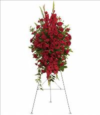 Deep in Our Hearts Spray by McAdams Floral, Victoria|Cuero|Goliad|Edna|Port Lavaca, Texas (TX)  Funeral Florist