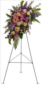 Heavenly Grace Spray by McAdams Floral, Victoria|Cuero|Goliad|Edna|Port Lavaca, Texas (TX)  Funeral Florist
