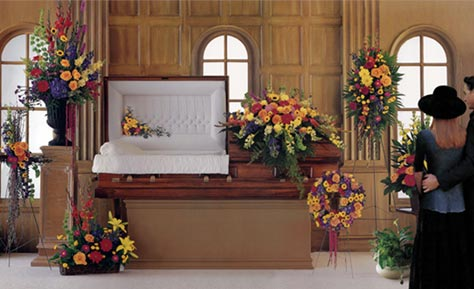 Funeral Service Flower Arrangements