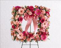 Peaceful Thoughts™ Wreath by McAdams Floral, Victoria|Cuero|Goliad|Edna|Port Lavaca, Texas (TX)  Funeral Florist