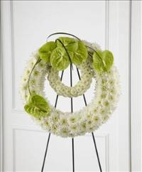 The FTD® Wreath of Remembrance™ by McAdams Floral, Victoria|Cuero|Goliad|Edna|Port Lavaca, Texas (TX)  Funeral Florist