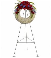 Reflections of Glory Wreath by McAdams Floral, Victoria|Cuero|Goliad|Edna|Port Lavaca, Texas (TX)  Funeral Florist