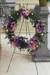 Wreath of Loosened Grapevine by McAdams Floral, Victoria|Cuero|Goliad|Edna|Port Lavaca, Texas (TX)  Funeral Florist
